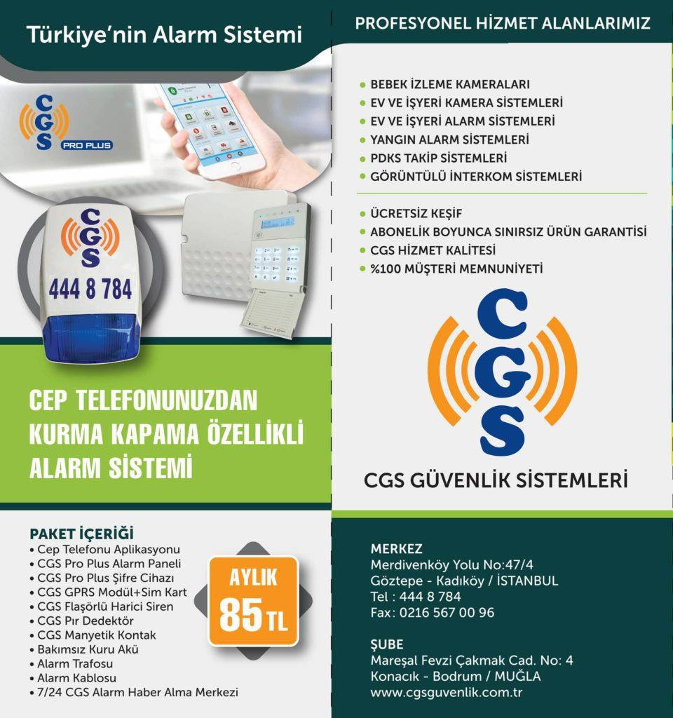 CGS Güvenlik Sistemleri - Alarm Sistemleri Kampanyası